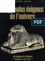 eBook Les Grandes Enigmes de l Univers - Richard Hennig