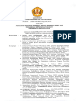 SK Rektor Penetapan Besaran Maksimal HIU Dan PKM 2018