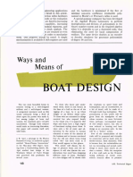 Ways and Means of Boat Design