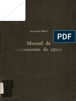 Manual de Potabilización Del Agua