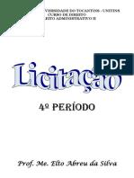 8 - LICITAÇÕES - APOSTILA