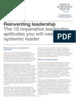 Reinventing Leadership - 10 Imperative Leadership Aptitudes
