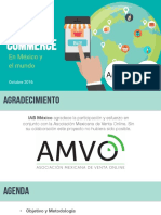 Mobile Commerce en Mexico 2016