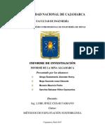 Mina de Algamarca Ult