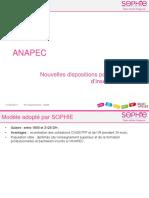 Presentation ANAPEC