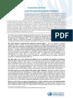SDGs and HumanRights -TransformingOurWorld