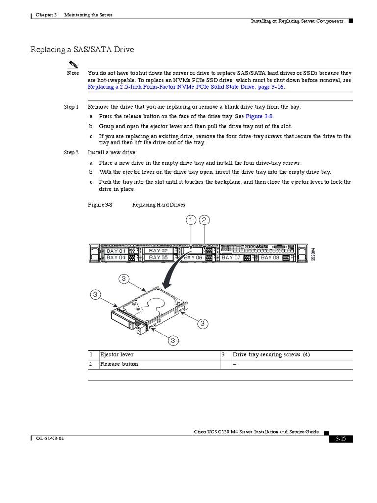 Cisco UCS C220 M4 Server Installation and Service Guide - C220M4 pdf
