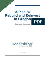 Kitzhaber's Plan for Oregon Summary