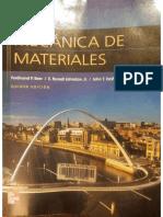 Mecanica de Materiales - Edicion 5 - Beer, Johnston, DeWolf