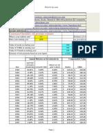 investment spreadsheet