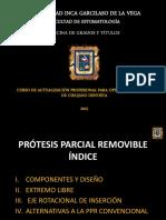 Protesis Parcial Removible 2015