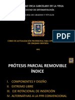 Protesis Parcial Removible 2015