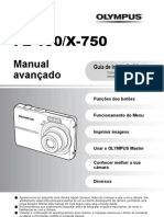 Manual Olympus X-750