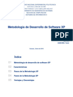 Metodologia de Desarrollo de Software Xp Si2