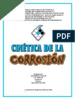 Cinética de La Corrosión (Adalberto Chacín)