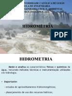 Aula Hidrometria