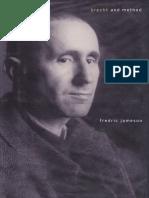 Fredric Jameson Brecht and Method 1998