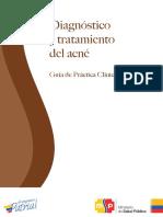 Diagnóstico y Tratamiento Del Acné 16012017