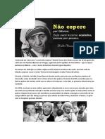Madre Teresa de Caucutá
