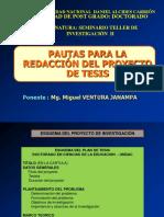 Pautas Redaccion Proyecto Tesis
