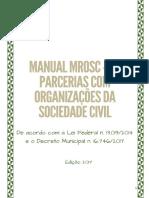 2017 Manual de Parcerias MROSC BH