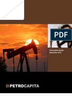 Petrocapita September 2010 Update