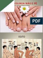 Reflexologia Pé e Mão