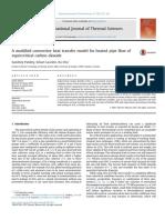 International Journal of Thermal Sciences Volume 117 Issue 2017 [Doi 10.1016%2Fj.ijthermalsci.2017.03.021] Pandey, Sandeep; Laurien, Eckart; Chu, Xu -- A Modified Convective Heat Transfer Model for He (1)