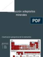 Intro. a Los Depositos Minerales Neo 2017