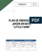 Plan de Emergencia Jardin Infantil Little Farm