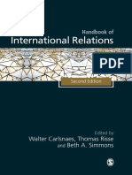 Handbook of International Relations Carlsnaes W Risse Kappen T Risse T Simmons Adler E 2013 Constructivism