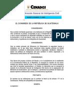 Ley de La Dirección General de Inteligencia Civil