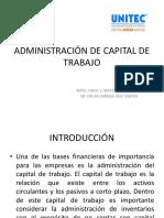 Administración de Capital de Trabajo Unitec (1)