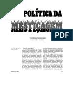 ALENCASTRO, Luiz F. Geopolítica Da Mestiçagem