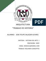 Historia Del Arte 1 Arquitectura