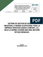 Sghso - Riadmarys Vfi 250116