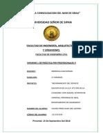 Informe de Practicas - 1
