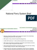 (U-LES) 20070828 National Ferry Brief.ppt