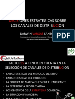 Decisiones Estrategicas Sobre Los Canales de Distribucion