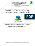 Manual de Convivencia Saint George School