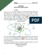 Capitulo II Estructura Clasica Del Atomo