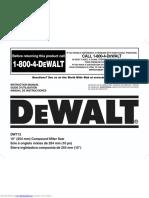 Dw713 Instruction Manual