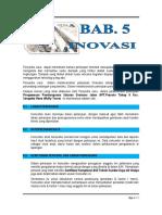 007. Bab 5. Inovasi - Pws. Air