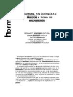 Estructura Del Hormigón Aridos y Zona de Trancision