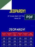 5th Grade Math CST Review