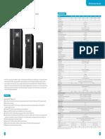 Off-grid Solar Inverter 10-120KVA (3:3)