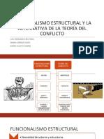 FUNCIONALISMO ESTRUCTURAL Y LA ALTERNATIVA DE LA TEORIA.pptx