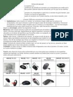 8.Tipos de Mouse