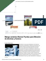 Filtro Dioxinas y Furanos