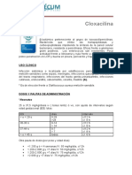 Cloxacilina Pediamecum